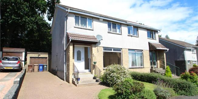 Offers Over £169,500, 3 Bedroom Semi Detached House For Sale in Houston, PA6