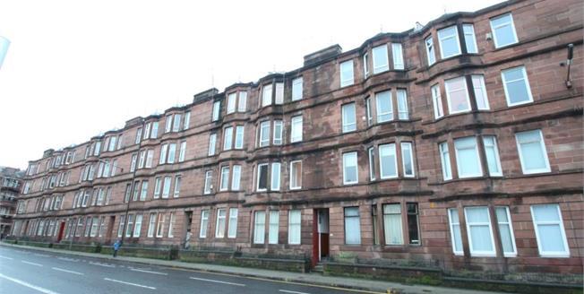 Fixed Price £90,000, 2 Bedroom Upper Floor Flat For Sale in Glasgow, G31