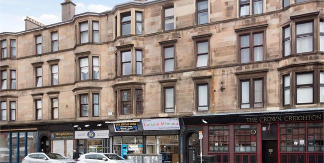 Offers Over £109,995, 3 Bedroom Upper Floor Flat For Sale in Glasgow, G31