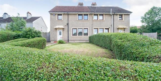 Fixed Price £120,000, 3 Bedroom Semi Detached House For Sale in Glasgow, G21