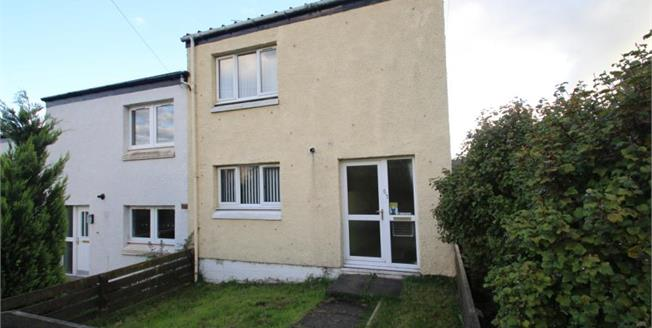 Offers Over £65,000, 2 Bedroom End of Terrace House For Sale in Falkirk, FK1