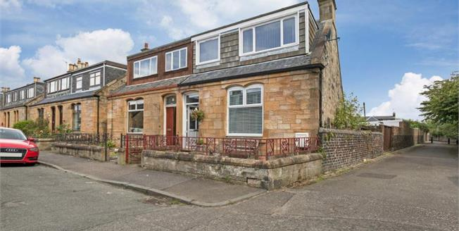 Offers Over £185,000, 3 Bedroom Semi Detached House For Sale in Falkirk, FK2