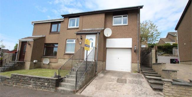 Offers Over £125,000, 3 Bedroom Semi Detached House For Sale in Glenrothes, KY6
