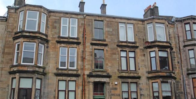 Offers Over £85,000, 2 Bedroom Upper Floor Flat For Sale in Greenock, PA16