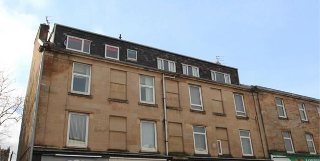 Fixed Price £46,000, 1 Bedroom Upper Floor Flat For Sale in Greenock, PA16