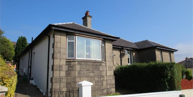 Offers Over £115,000, 2 Bedroom Bungalow For Sale in Greenock, PA15