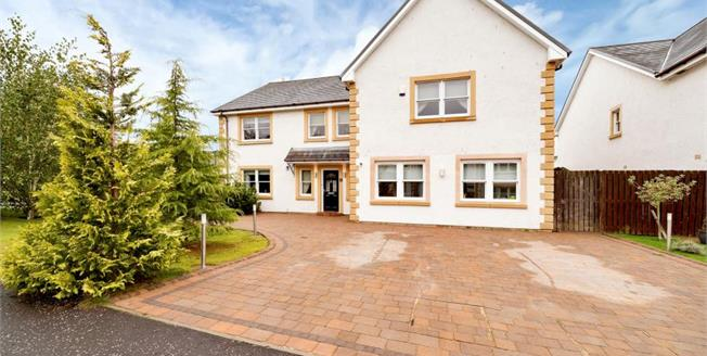 Fixed Price £390,000, 6 Bedroom Detached House For Sale in Carluke, ML8