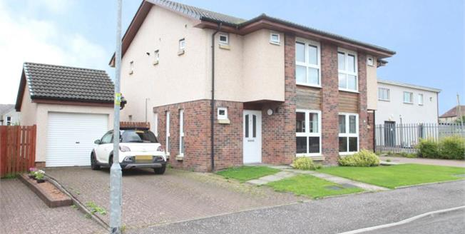 Offers Over £110,000, 3 Bedroom Semi Detached House For Sale in Law, ML8
