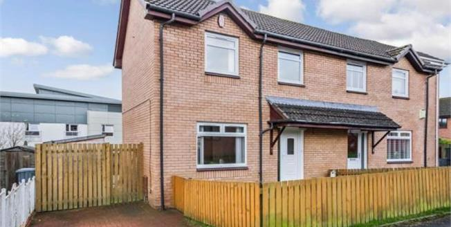 Offers Over £130,000, 3 Bedroom Semi Detached House For Sale in Hamilton, ML3