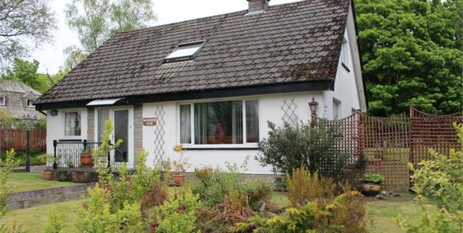 Fixed Price £215,000, 4 Bedroom Detached Bungalow For Sale in Garelochhead, G84