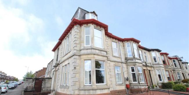 Offers Over £125,000, 3 Bedroom Upper Floor Flat For Sale in Kilmarnock, KA1