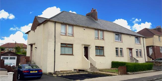 Offers Over £65,000, 2 Bedroom Ground Floor Flat For Sale in Kilmarnock, KA1