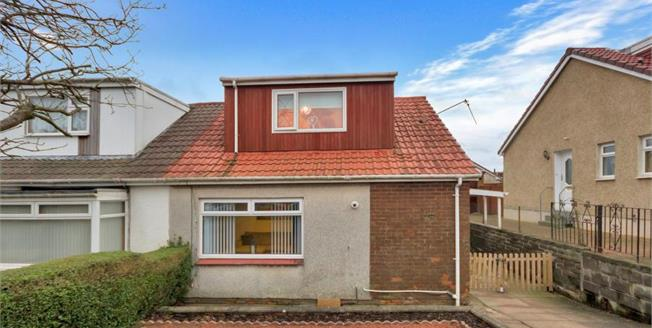 Fixed Price £105,000, 3 Bedroom Semi Detached Bungalow For Sale in Crosshouse, KA2
