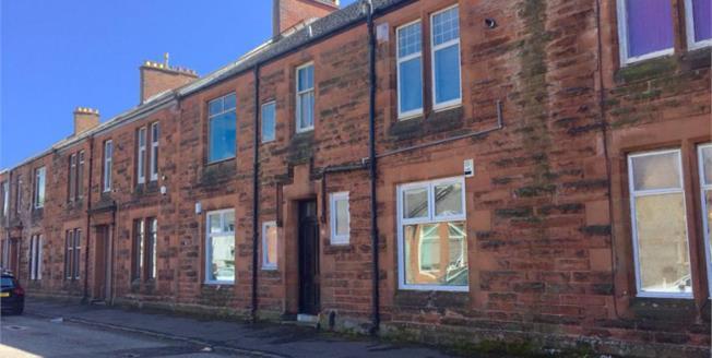 Offers Over £45,000, 1 Bedroom Upper Floor Flat For Sale in Kilmarnock, KA1