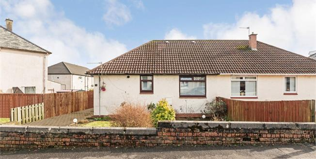 Offers Over £90,000, 3 Bedroom Semi Detached Bungalow For Sale in Mauchline, KA5