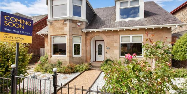 Offers Over £350,000, 4 Bedroom Detached House For Sale in Largs, KA30