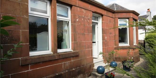 Offers Over £175,000, 3 Bedroom Detached Bungalow For Sale in Largs, KA30