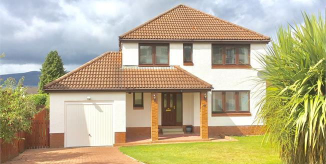 Offers Over £230,000, 4 Bedroom Detached House For Sale in Skelmorlie, PA17