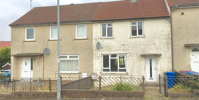 Offers Over £40,000, 2 Bedroom Terraced House For Sale in Kilbirnie, KA25