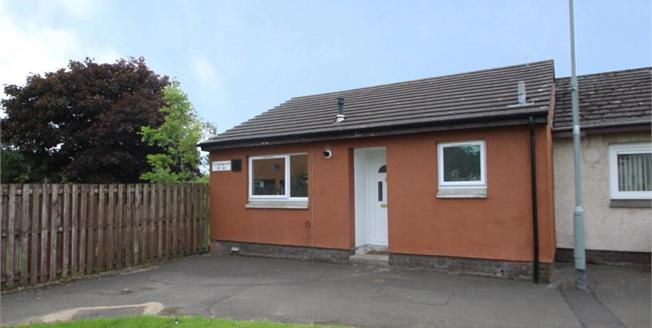 Offers Over £95,000, 2 Bedroom End of Terrace Bungalow For Sale in Livingston, EH54