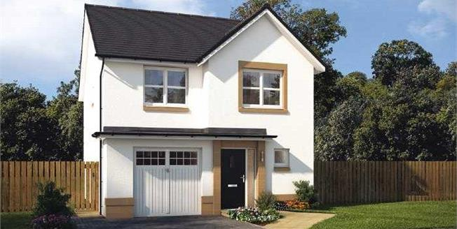 £329,995, 4 Bedroom Detached House For Sale in Midlothian, EH24