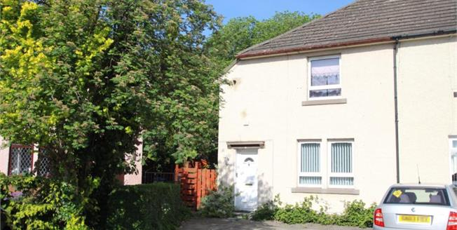 Offers Over £114,000, 2 Bedroom Semi Detached House For Sale in Paisley, PA1
