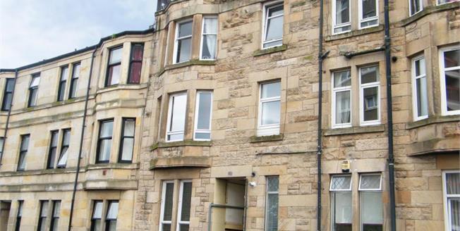 Fixed Price £45,000, 1 Bedroom Upper Floor Flat For Sale in Renfrewshire, PA2