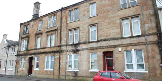 Offers Over £45,000, 2 Bedroom Ground Floor Flat For Sale in Johnstone, PA5