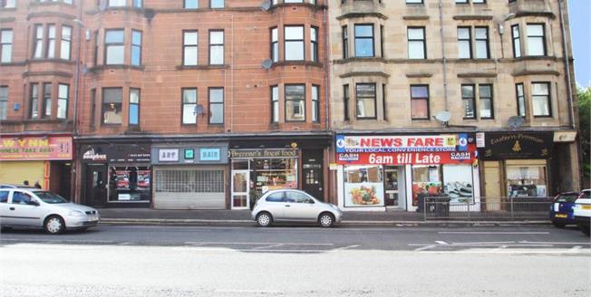 Fixed Price £45,000, 1 Bedroom Upper Floor Flat For Sale in Paisley, PA1