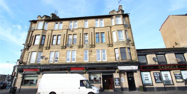 Offers Over £49,950, 2 Bedroom Upper Floor Flat For Sale in Paisley, PA1