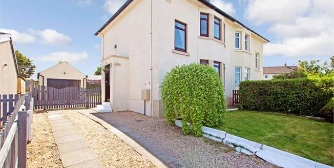 Offers Over £140,000, 2 Bedroom Semi Detached House For Sale in Paisley, PA2