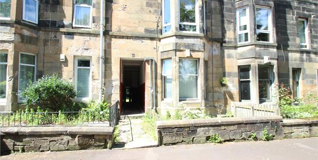 Offers Over £50,000, 1 Bedroom Flat For Sale in Paisley, PA1
