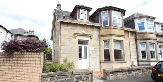 Offers Over £250,000, 4 Bedroom Semi Detached House For Sale in Paisley, PA1
