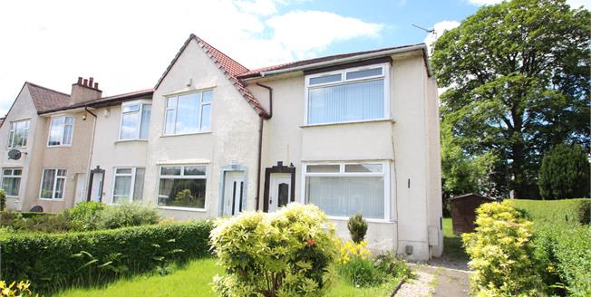 Offers Over £115,000, 2 Bedroom End of Terrace House For Sale in Paisley, PA3