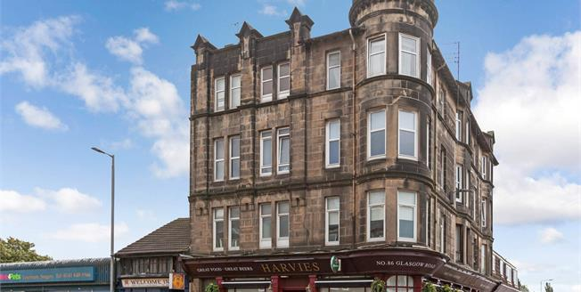 Fixed Price £72,500, 2 Bedroom Flat For Sale in Paisley, PA1