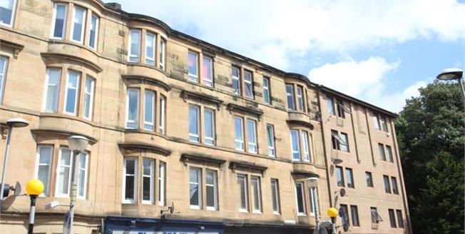 Offers Over £115,000, 2 Bedroom Upper Floor Flat For Sale in Glasgow, G41