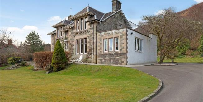 Offers Over £470,000, 5 Bedroom Detached House For Sale in Aberfoyle, FK8