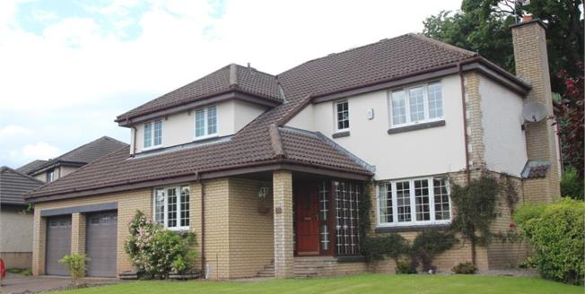 Offers Over £389,000, 5 Bedroom Detached House For Sale in Stirling, FK8