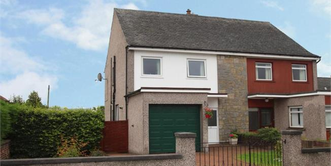 Offers Over £155,500, 3 Bedroom Semi Detached House For Sale in Alloa, FK10