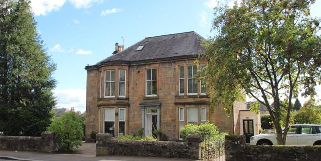 Offers Over £300,000, 3 Bedroom Upper Floor Flat For Sale in Bridge of Allan, FK9