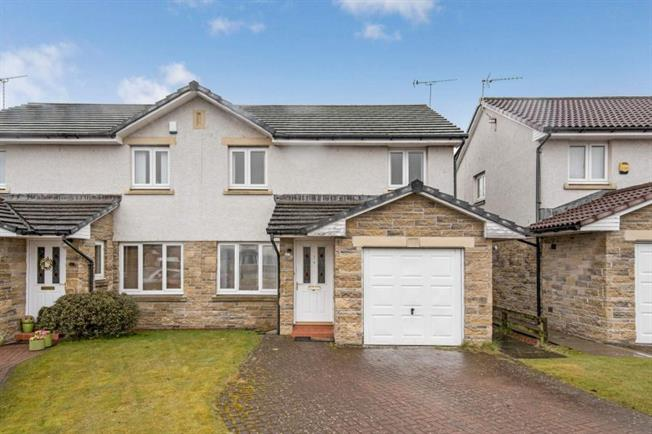 3 Bedroom Semi Detached House For Sale in Stirling for Offers Over £170,000.