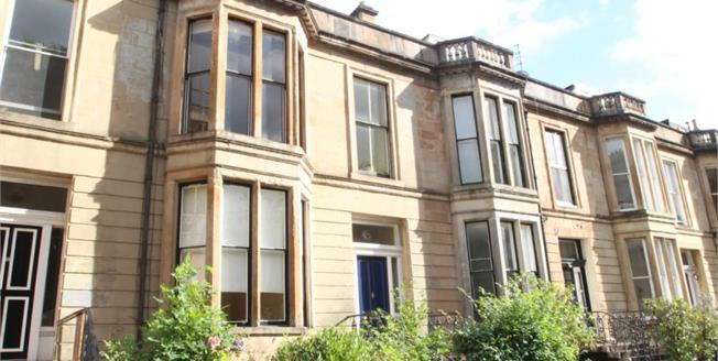Offers Over £225,000, 2 Bedroom Ground Floor Flat For Sale in Glasgow, G12