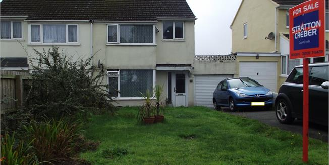 Asking Price £159,950, 3 Bedroom Semi Detached House For Sale in Bodmin, PL31