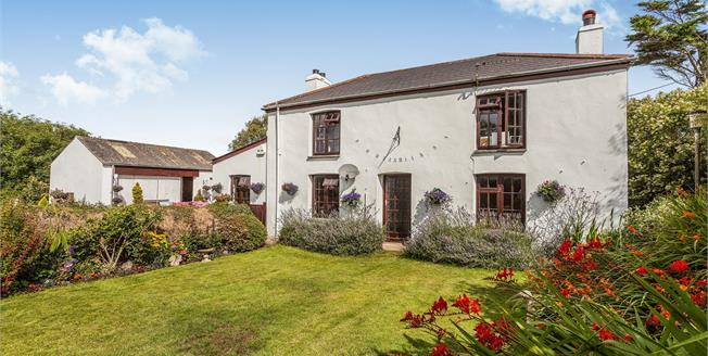Offers in the region of £495,000, 3 Bedroom Detached Cottage For Sale in Angarrack, TR27