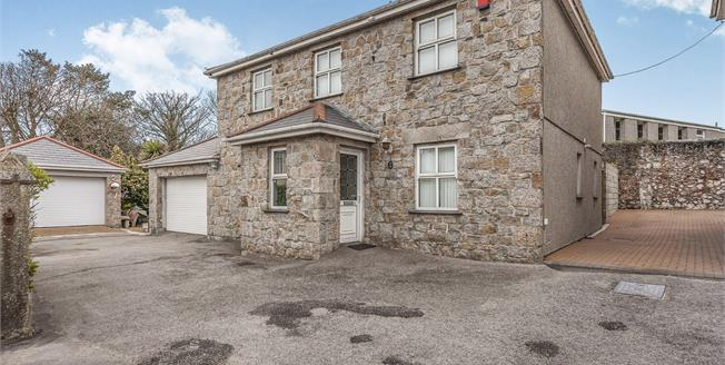 Offers in excess of £300,000, 4 Bedroom Detached Cottage For Sale in Camborne, TR14