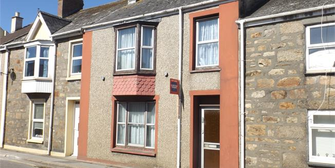 Asking Price £125,000, 3 Bedroom Terraced House For Sale in Camborne, TR14