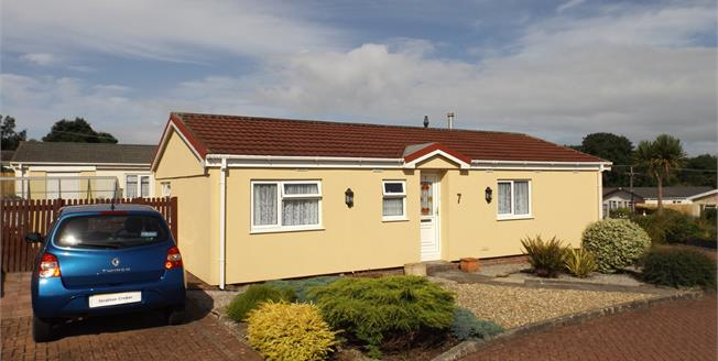 Asking Price £120,000, 2 Bedroom Detached Mobile Home For Sale in Camborne, TR14
