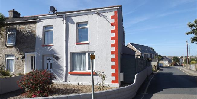 Asking Price £167,000, 3 Bedroom End of Terrace House For Sale in Camborne, TR14
