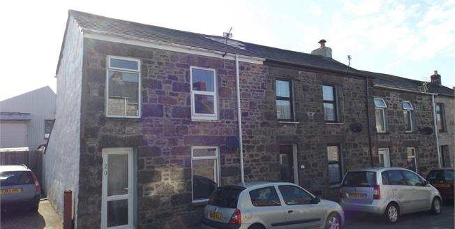 Asking Price £120,000, 2 Bedroom End of Terrace Cottage For Sale in Camborne, TR14