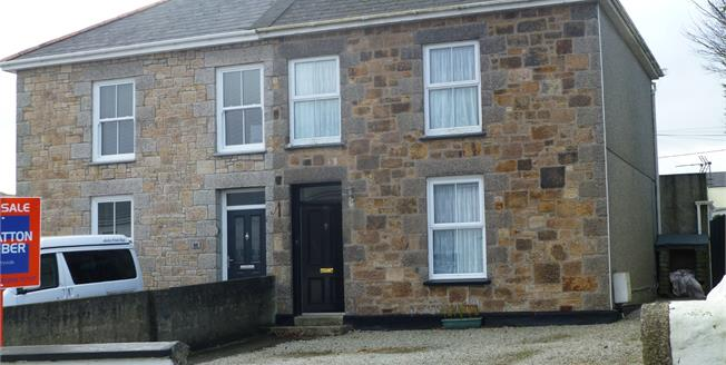Asking Price £240,000, 3 Bedroom Semi Detached House For Sale in Camborne, TR14